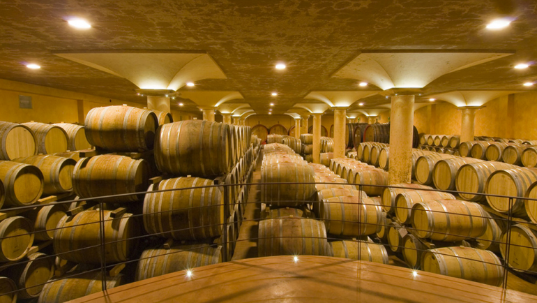 Tours in the cellars
