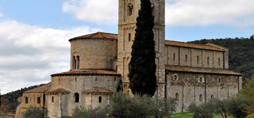 Montalcino and Sant'Antimo